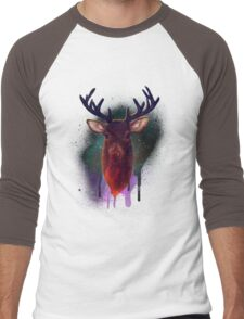 Galaxy Stag Men's Baseball ¾ T-Shirt