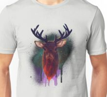Galaxy Stag Unisex T-Shirt