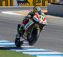 Toni Elias at Laguna Seca 2013 by corsefoto