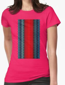 The Saturn Cylinder Womens Fitted T-Shirt
