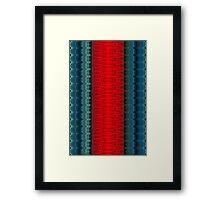 The Saturn Cylinder Framed Print