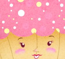 Ms. cupcake Sticker