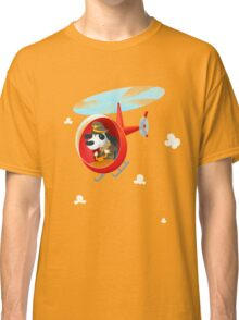 Helicopter dog Classic T-Shirt