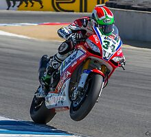 Davide Giugliano at Laguna Seca 2013 by corsefoto