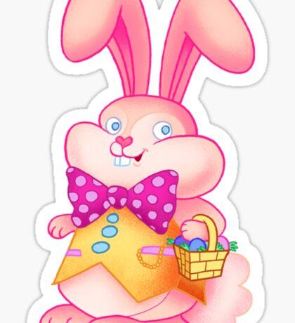 Goofball Easter Bunny Sticker