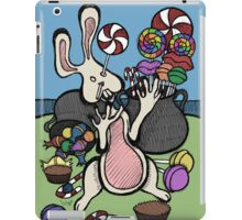 Teddy Bear And Bunny - Sugar Crash 2 iPad Case/Skin