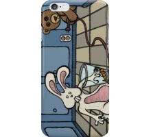 Teddy Bear And Bunny - The Practical joke iPhone Case/Skin