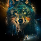Galaxy Wolf by Keelin  Small