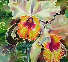 Orchid Series 9 by Deborah Younglao