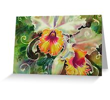 Orchid Series 9 Greeting Card
