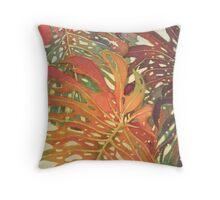 Palm Patterns 2 Throw Pillow