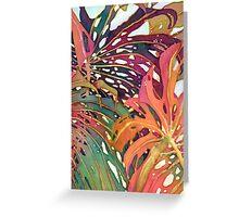 Palm Patterns 1 Greeting Card