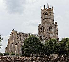 St Mary the Virgin and All Saints Church, Fotheringhay by Avril Harris