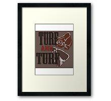 Turf and Turf Framed Print