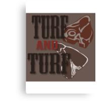 Turf and Turf Canvas Print