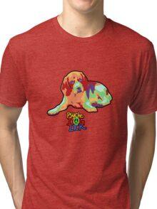 PsycheDOGlick Beagle Tri-blend T-Shirt