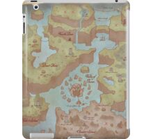Super Mario World Map iPad Case/Skin