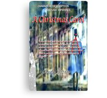 A Christmas Carol: Character defined  Canvas Print
