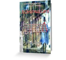 A Christmas Carol: Character defined  Greeting Card