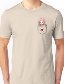 Pocket Sakura Unisex T-Shirt