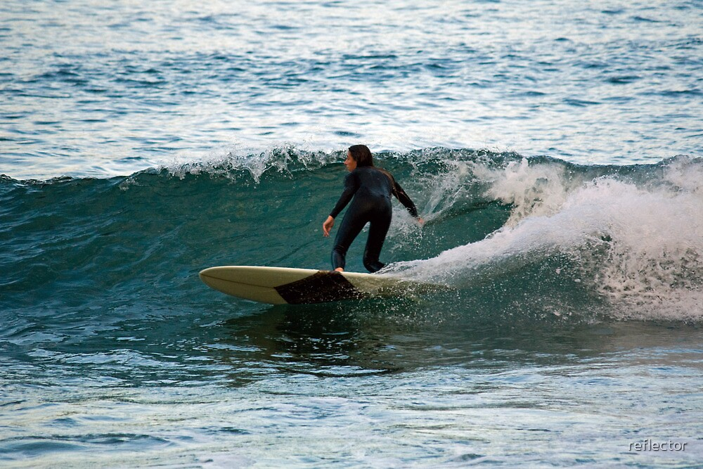 Malibu Girl by reflector