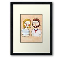 Secretly In Love Framed Print
