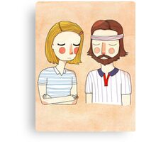 Secretly In Love Canvas Print