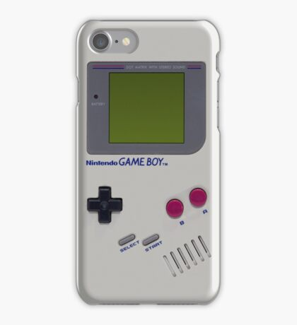 Nintendo Game Boy  iPhone Case/Skin
