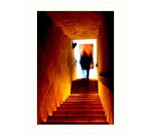 Pyramid winery ghost Art Print
