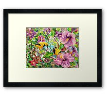 Please Share! Framed Print