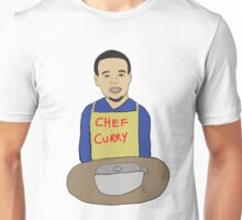 Chef Curry - Stephen Curry Illustration Unisex T-Shirt