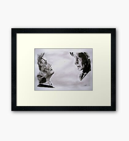 When All is Insufficient  Framed Print