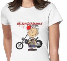 Daryl Dixon Pig Pen - WalkingDeadFamily.com Womens Fitted T-Shirt