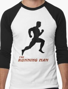 The Running Man Men's Baseball ¾ T-Shirt