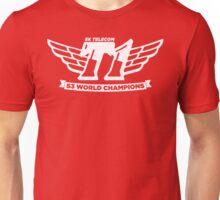 Red SKT T1 World Champions Vintage Tee Unisex T-Shirt