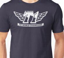 Navy SKT T1 World Champions Vintage Tee Unisex T-Shirt