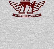 Grey SKT T1 World Champions Vintage Tee Unisex T-Shirt