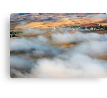 Steptoe Fog Clearing Canvas Print