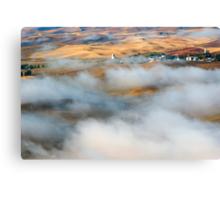 Steptoe Fog Clearing Canvas Print