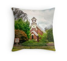 St James' Anglican Church  Throw Pillow