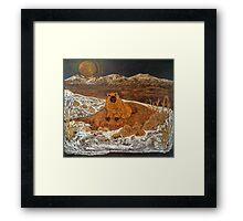 Good Morning, Mr. Groundhog! Framed Print