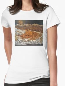 Good Morning, Mr. Groundhog! Womens Fitted T-Shirt