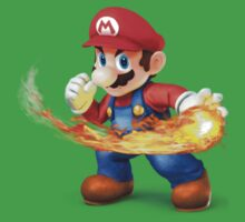 Mario - Super Smash Bros for Wii U/3DS by AussieCreeper