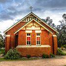 Catholic Church Stockinbingal  by Rosalie Dale