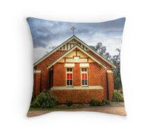 Catholic Church Stockinbingal  Throw Pillow