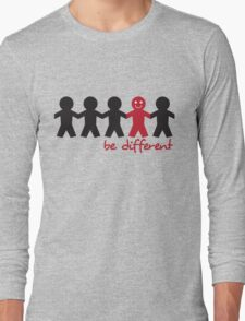 Be Different Long Sleeve T-Shirt