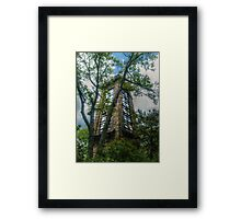 Ryecliff LookOut Tower on Ramapo Mountain Framed Print