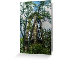 Ryecliff LookOut Tower on Ramapo Mountain Greeting Card