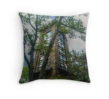 Ryecliff LookOut Tower on Ramapo Mountain Throw Pillow