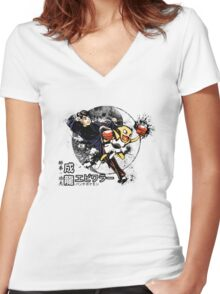 The Chan Bros. Women's Fitted V-Neck T-Shirt
